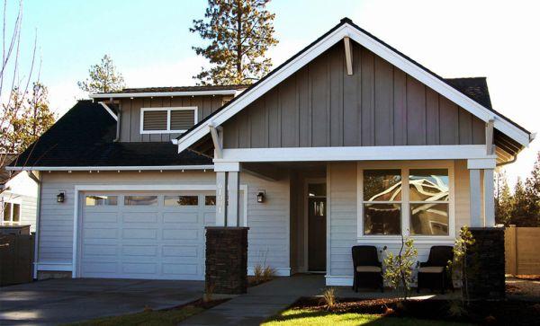 Dise o de casa de 3 dormitorios con garaje doble planos - Diseno de garajes ...