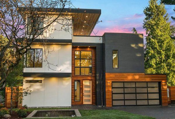Casa Moderna De Tres Pisos Planos De Casas 3d