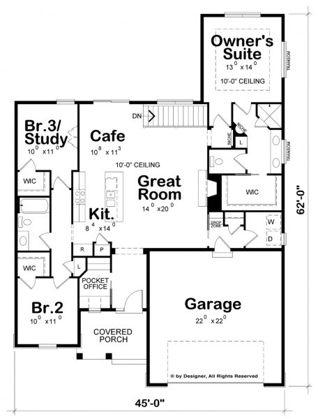 Casa cl sica de 3 dormitorios planos de casas 3d for Casa procrear clasica techo inclinado 3 dormitorios