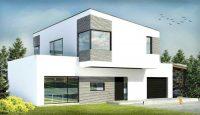 Casa Moderna de 2 Pisos Simples