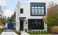 Casa Moderna de Dos Pisos y Tres Dormitorios